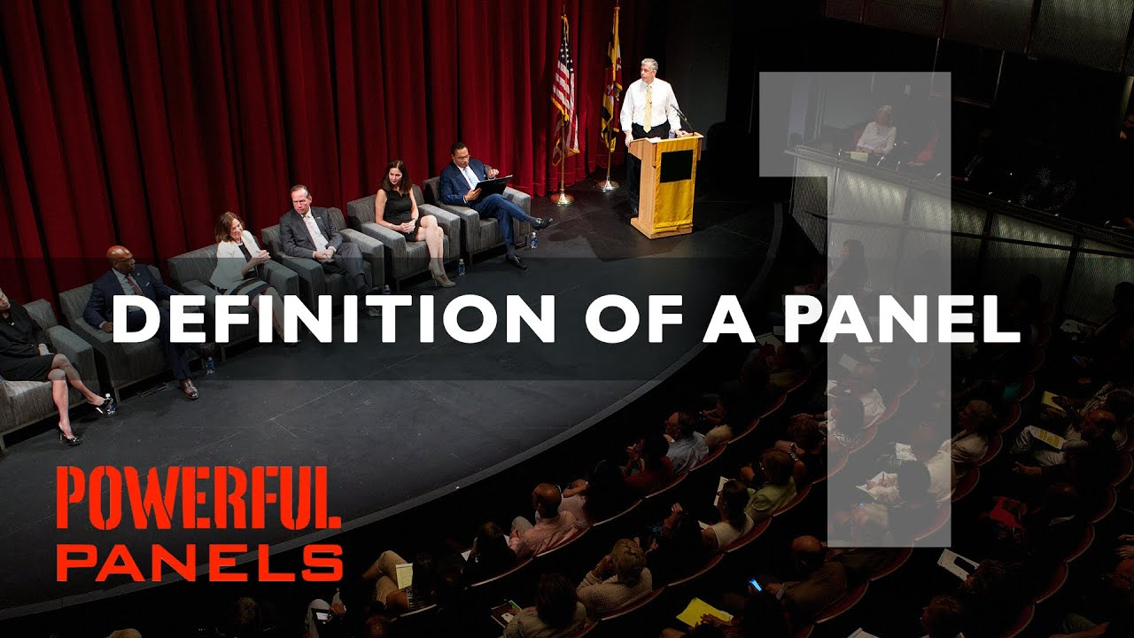 How to Moderate a Panel Discussion: Definition of a Panel ...
