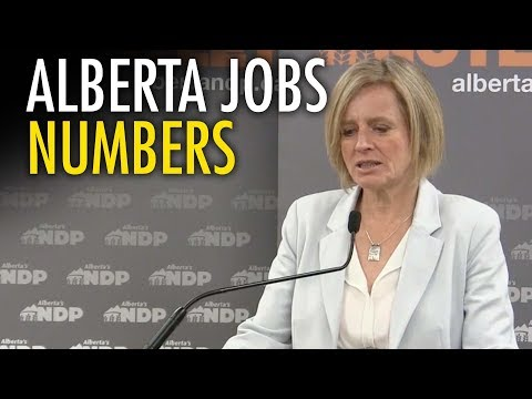Alberta job stats bad news for NDP