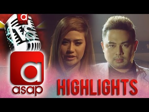 ASAP Versus: Morissette and Jed Madela's voice-to-voice battle with Whitney Houston's hits!