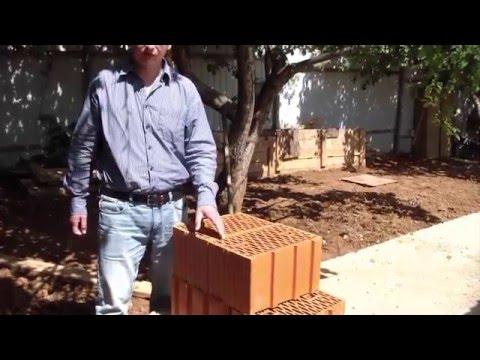 Строительство дома из керамических блоков. Частный архитектор