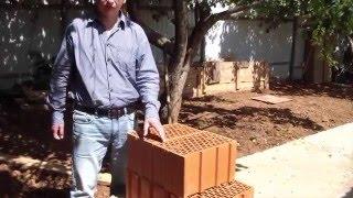 видео Керамические блоки в строительстве