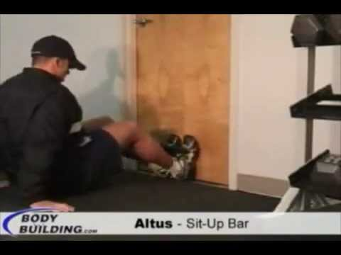 Altus Sit Up Bar   YouTube