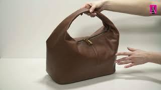 Видеообзор I Женская сумка хобо CALZETTI SOFIA 2664591