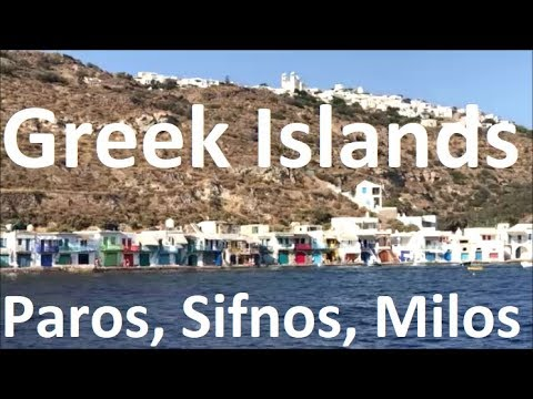 Sailing the Greek Islands: Paros, Sifnos, Milos (Part 1)