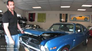 1969 Chevrolet Nova SS  for sale with test drive, driving sounds, and walk through video