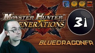 Let's play Monster Hunter Generations - #31: Nargacuga (Encore!), 2 Ludroth Royal et Miaou-Points !