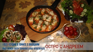 #019 - судак в томате c овощами || pike-perch with tomatoes and vegetables