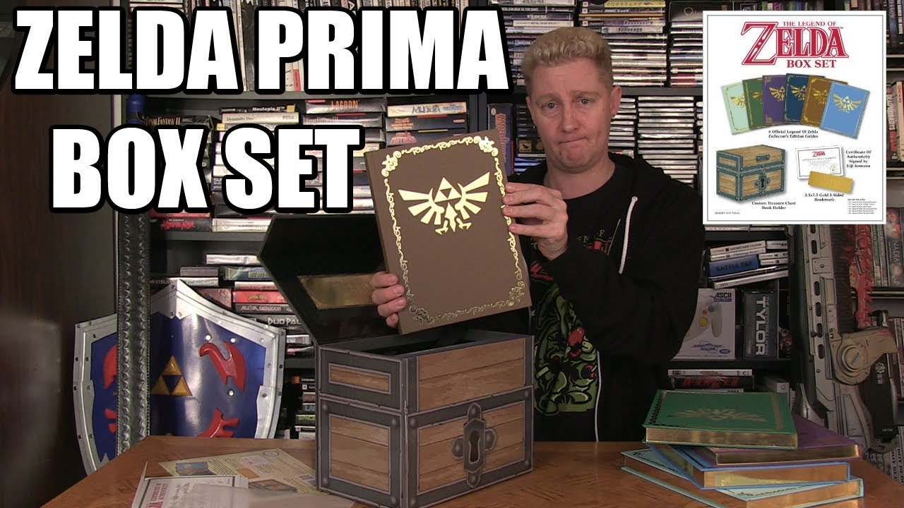 The legend of zelda prima guide box set happy console for Bureau zelda