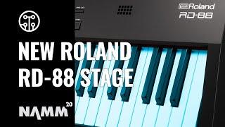 Roland NAMM 2020 | New RD 88 Stage Piano | Thomann
