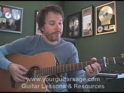 Guitar Lessons - Stay by Sugarland- chords lesson Beginners Acoustic songs