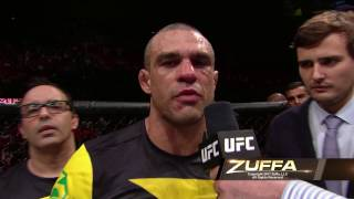 UFC Fortaleza: Entrevista no octógono com Kelvin Gastelum e Vitor Belfort