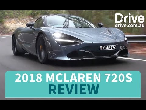 2018 McLaren 720S Review   Drive.com.au - Dauer: 6 Minuten, 58 Sekunden
