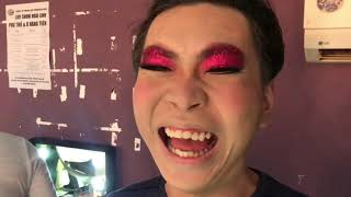 Cát Phượng giành make up trước Minh Dự tại hậu trường Liveshow Hoài Linh 2019