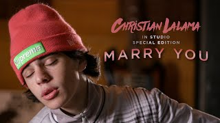 Christian Lalama - Marry You (Bruno Mars Cover) - 10th Anniversary 'Doo-Wops & Hooligans'