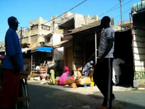 Market Dakar Senegal