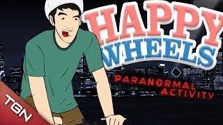 Happy Wheels: PARANORMAL ACTIVITY