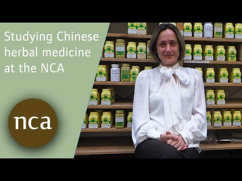 Student Helen talks about studying Chinese herbal medicine at the NCA