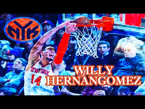 Willy Hernangomez New York Knicks Highlights || 2016-2017 Full Season || ᴴᴰ