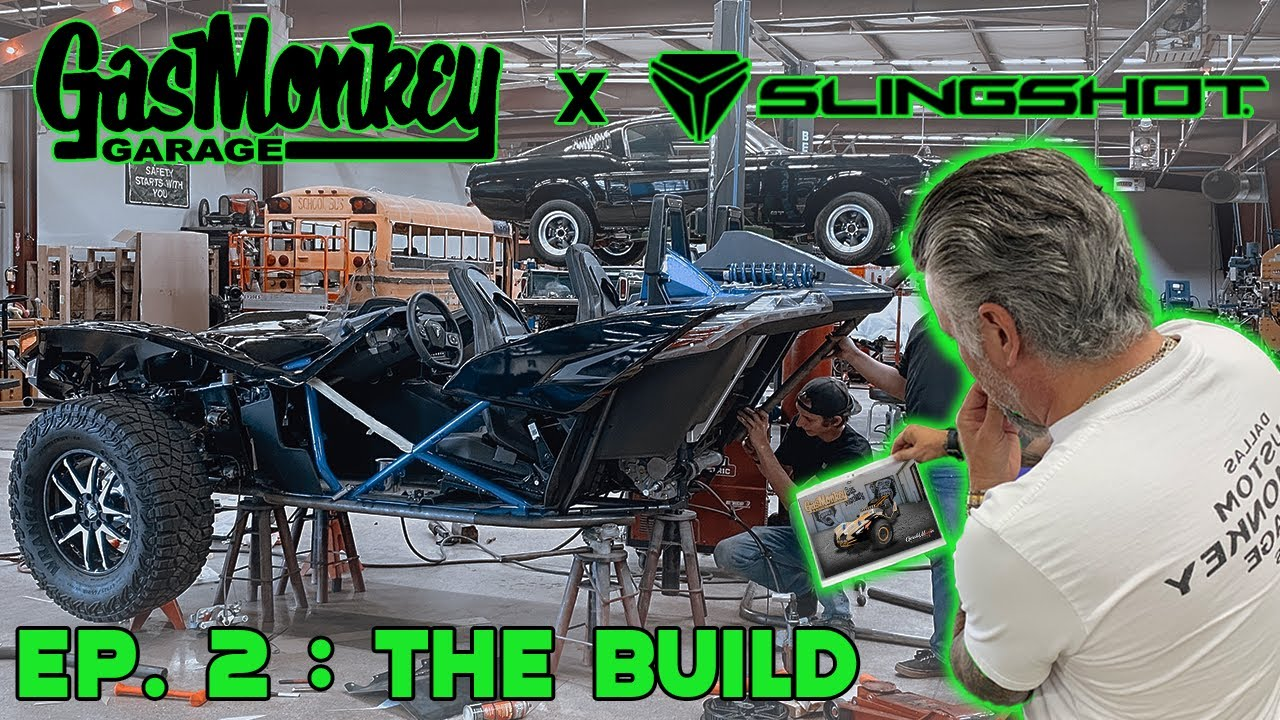 SEMA 2021 BUILD Ep. 2 - Slingshot x Gas Monkey Garage - Gas Monkey Builds