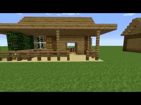 Туториал-Как построить маленький красивый дом в Minecraft!