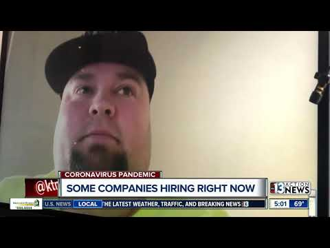 Companies hiring people who lose jobs due to coronavirus impacts