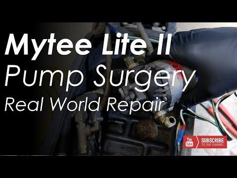 Mytee Lite II 8070 Pump Repair Surgery