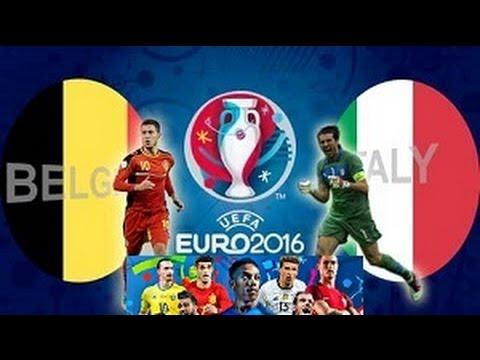 BELGIUM vs ITALY PES 2016 |  Belgium, Italy, Republic of Ireland, Sweden | EURO 2016 Group E Preview