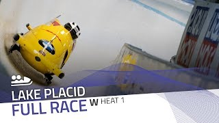 Lake Placid | BMW IBSF World Cup 2018/2019 - Women's Bobsleigh Heat 1 | IBSF Official