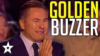 Download HAPPIEST Golden Buzzer Ever Makes Judges CRY On Britain's Got Talent! | Got Talent Global Mp3 and Videos
