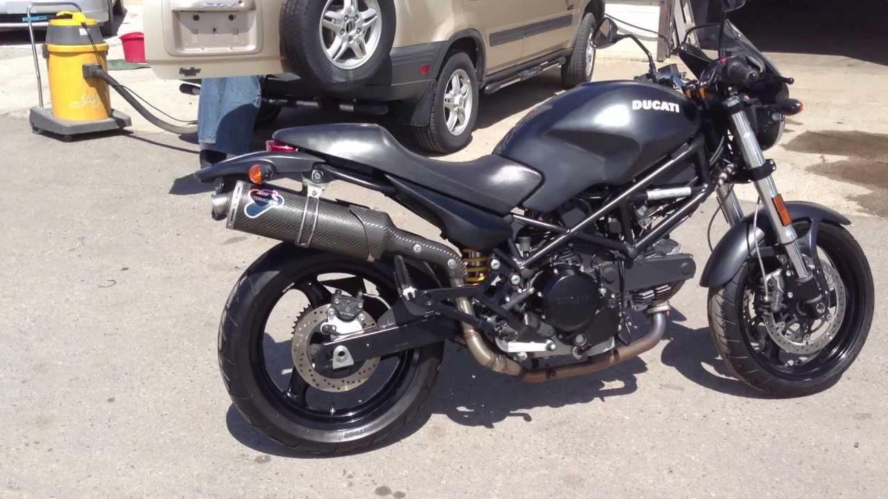 Ducati  Black Exhaust
