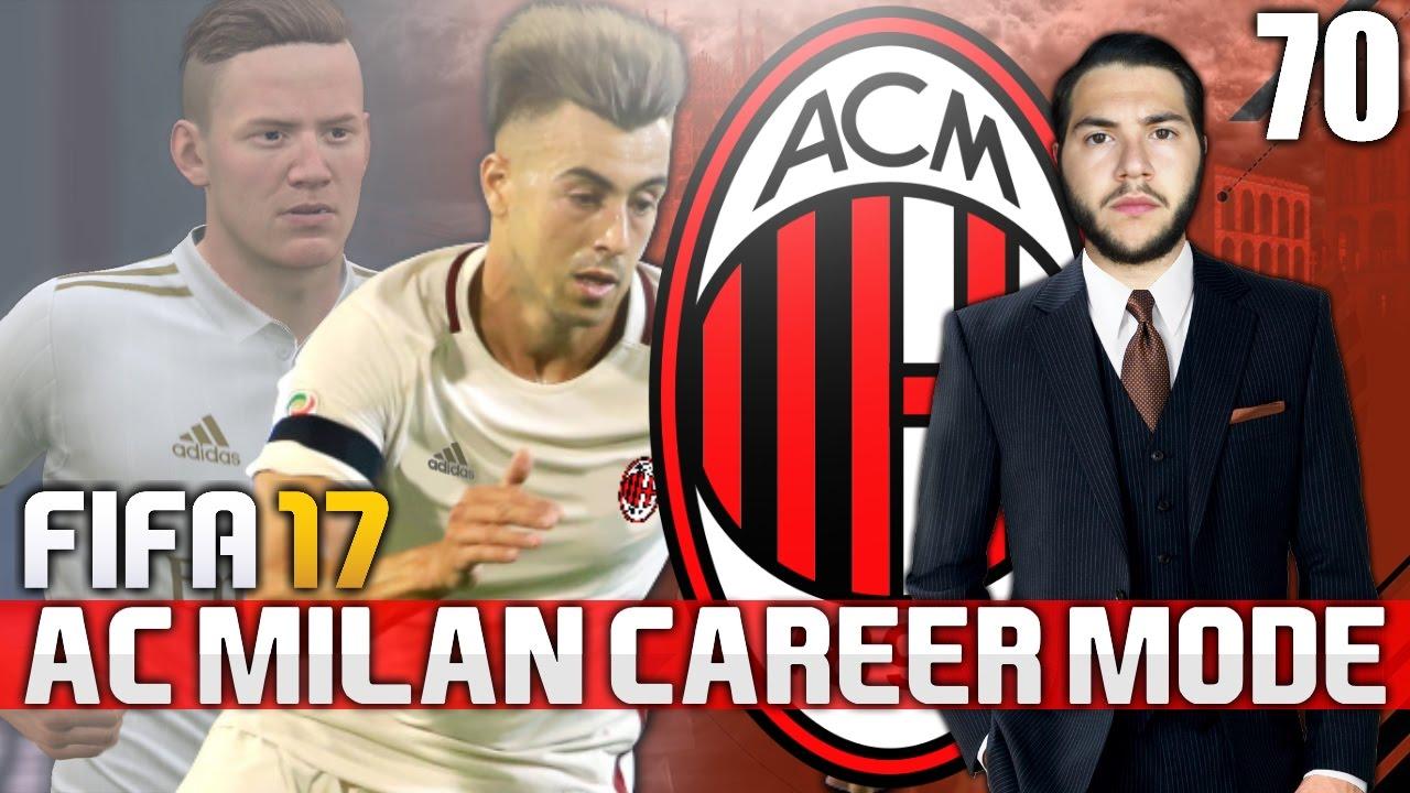 Fifa 17 ac milan career mode 70 the injuries youtube for Fifa 17 milan