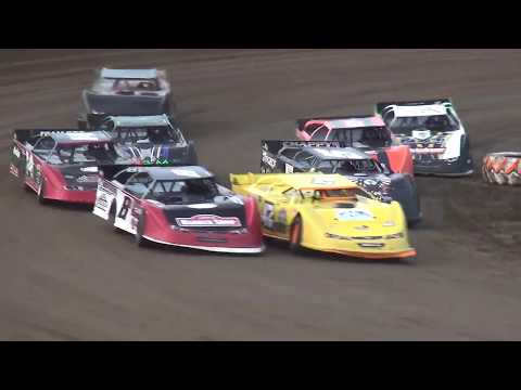 IMCA Late Model Heat 1 Independence Motor Speedway 6/29/19