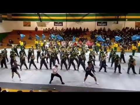 "Greensville County High School Marching Band aka ""G-FORCE"" 2016 @ Southeast Halifax High School"