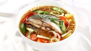 Cách làm canh chua cá củ thì là