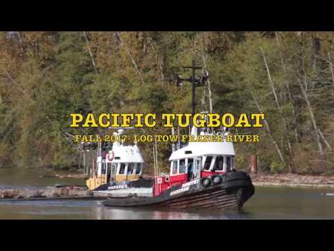 PACIFIC tugboat Fall 2017 Log Tow