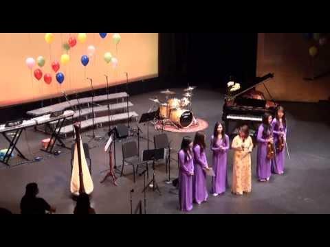 Ao Lua Ha Dong - Lien Tam Piano Recital 2013
