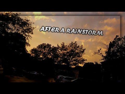 AFTER A RAINSTORM