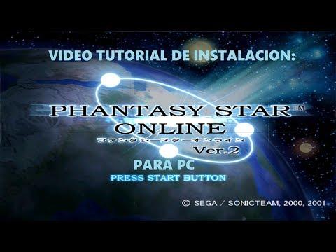 NACION GAMER - TUTORIAL: Instalar Phantasy Star Online Ver. 2 PC + Registro Sylverant (2018)