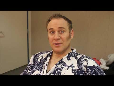 Vlog 1 Opening night at Chicago Lyric Opera - Lucas Meachem