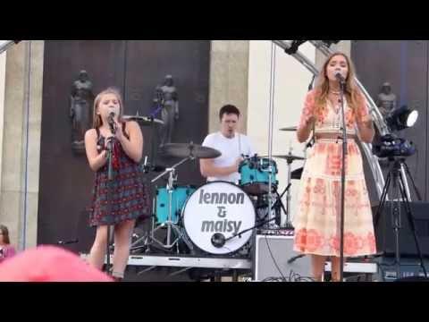 Lennon & Maisy -Live On The Green 2015 -Nashville, TN 002