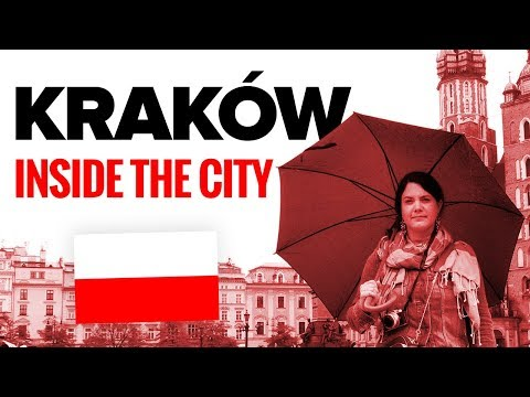 Inside Kraków. Poland's old capital.
