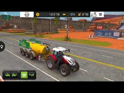 Farming Simulator 18 - #7 New tractor Steyr 6300 Terrus and fertilizer - Gameplay