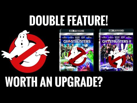 GHOSTBUSTERS 4K DOUBLE FEATURE! | ARE THEY WORTH AN UPGRADE?!?