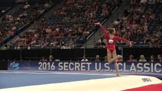 Cameron Machado - Floor Exercise - 2016 Secret U.S. Classic - Junior