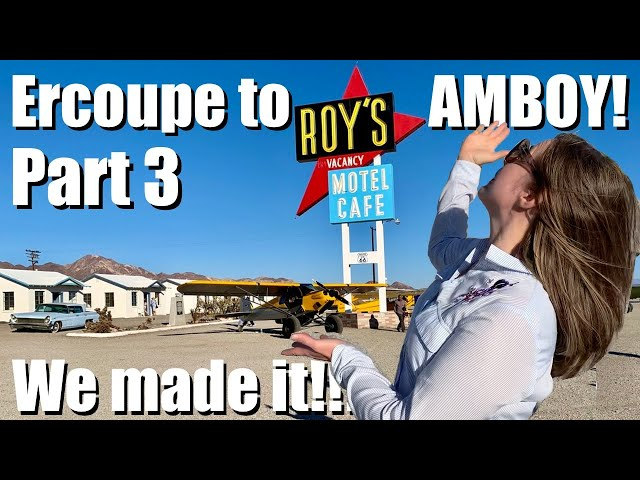 Ercoupe to Amboy with Diane - Part 3