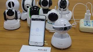 yoosee WiFi camera installation operation video