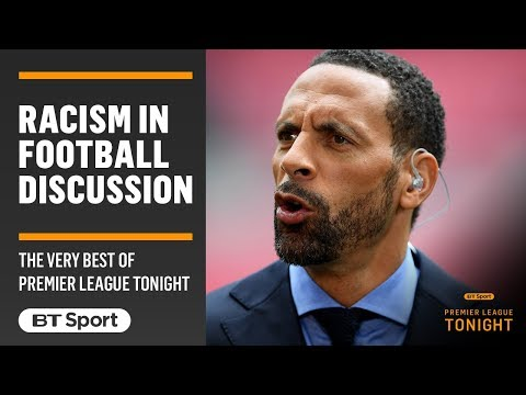 Rio Ferdinand speaks passionately about the issues of racism within football