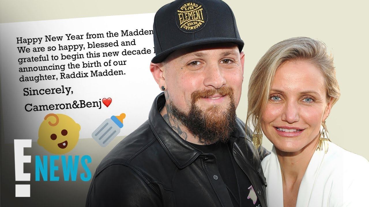 Cameron Diaz And Benji Madden Announced The Birth Of Their ...