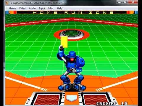 2020 baseball neo geo