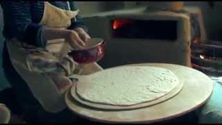 Национальный хлеб лезгин «Хьран фу»
